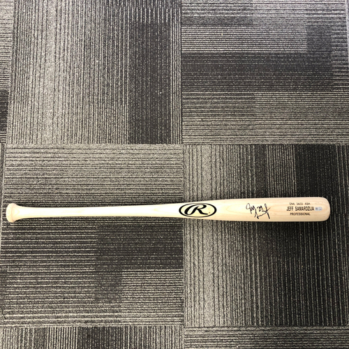 Photo of San Francisco Giants - Player Collected & Autographed Bat - #29 Jeff Samardzija