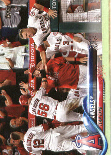 Photo of 2018 Topps #119 Los Angeles Angels