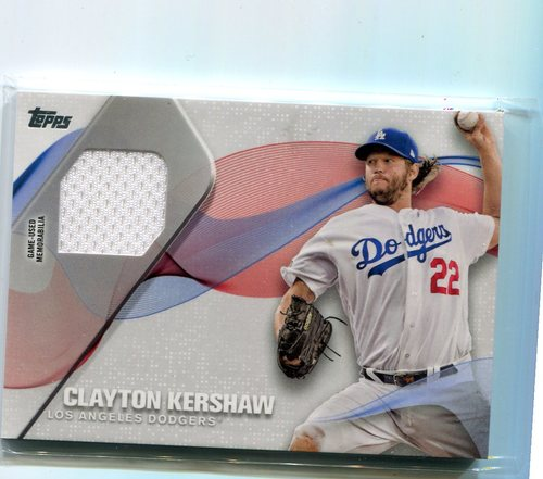 Photo of 2017 Topps Major League Materials Clayton Kershaw