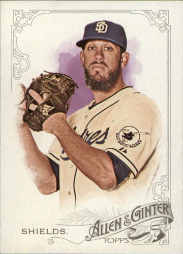Photo of 2015 Topps Allen and Ginter #291 James Shields