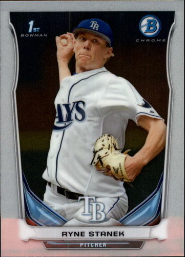 Photo of 2014 Bowman Chrome Prospects #BCP84 Ryne Stanek