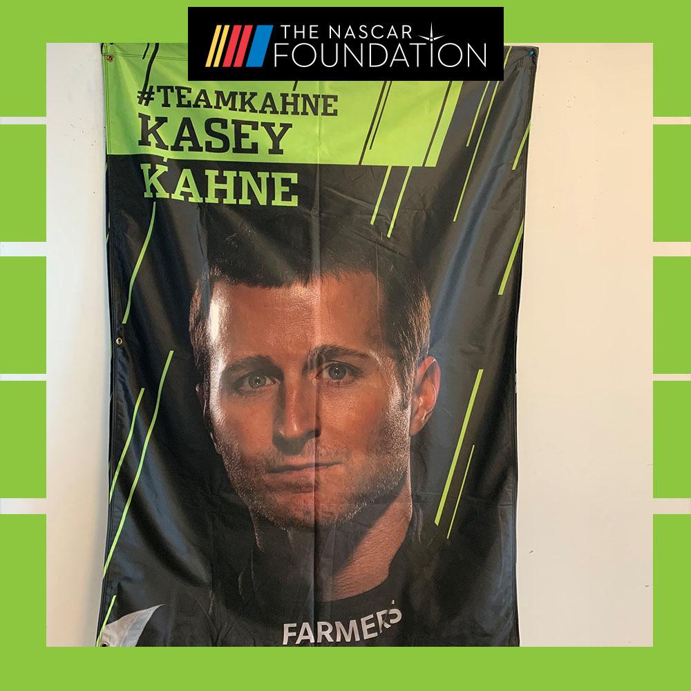 NASCAR's Kasey Kahne Playoff Banner!