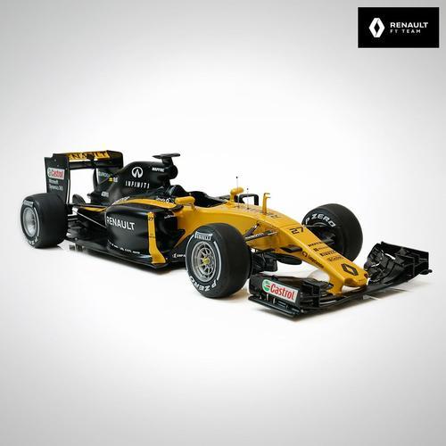 Photo of Renault F1 Team 2017 1:8 Scale Cutaway Model F1 Car