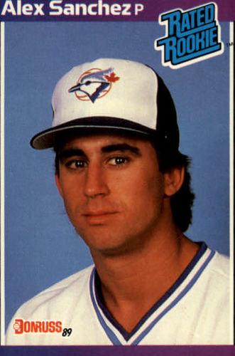 Photo of 1989 Donruss #47 Alex Sanchez RC