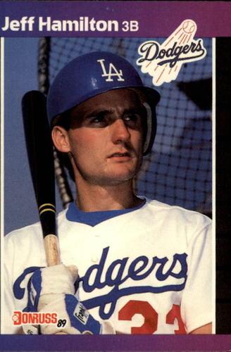 Photo of 1989 Donruss #550 Jeff Hamilton DP