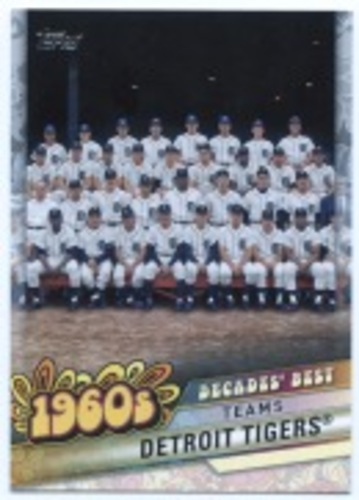 Photo of 2020 Topps Decades' Best #DB29 Detroit Tigers