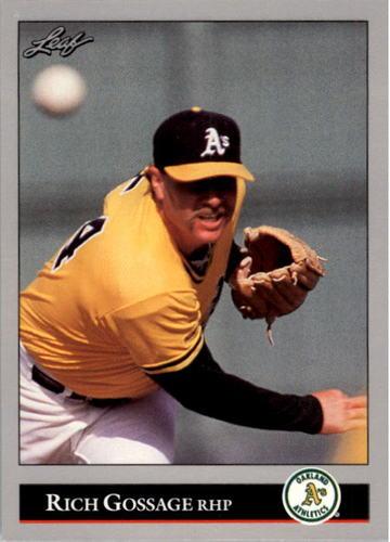 Photo of 1992 Leaf #474 Rich Gossage