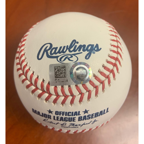 Photo of Oakland A's Community Fund: Lou Trivino Autographed Ball