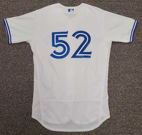 Photo of Authenticated Team Issued 2020 Summer Training Camp Jersey: #52 Anthony Bass. Size 44.