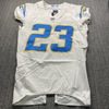 Crucial Catch - Chargers Rayshawn Jenkins Game Used Jersey (10/12/20)