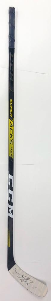 #10 Joakim Nygard Game Used Stick - Autographed - Edmonton Oilers