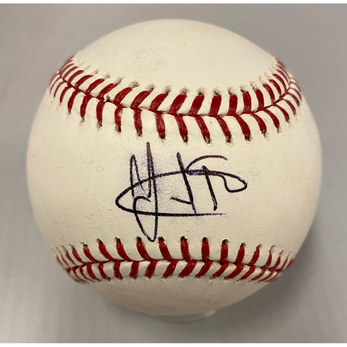 Photo of Giants Community Fund - Smudged Autographed Baseball signed by Yangervis Solarte
