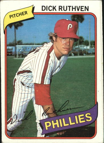 Photo of 1980 Topps #136 Dick Ruthven