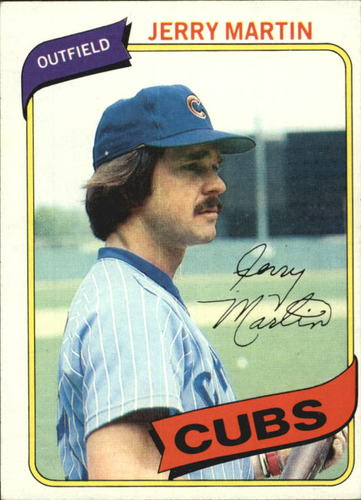 Photo of 1980 Topps #493 Jerry Martin