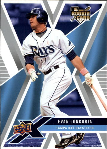 Photo of 2008 Upper Deck X #94 Evan Longoria RC