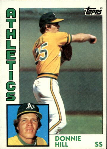 Photo of 1984 Topps #265 Donnie Hill