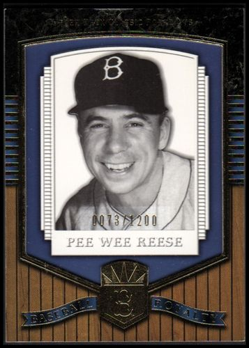 Photo of 2003 Upper Deck Classic Portraits #219 Pee Wee Reese BBR