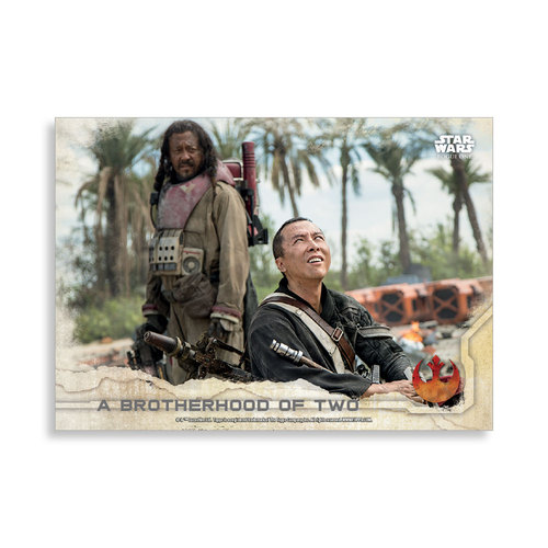 A brotherhood of two 2016 Star Wars Rogue One Series One Base Poster - # to 99