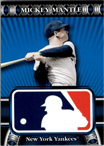 Photo of 2010 Topps Logoman HTA #32 Mickey Mantle