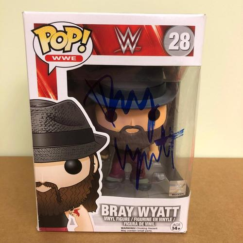 Photo of Bray Wyatt SIGNED POP! Vinyl Figure