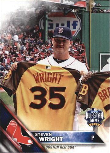 Photo of 2016 Topps Update #US113 Steven Wright AS