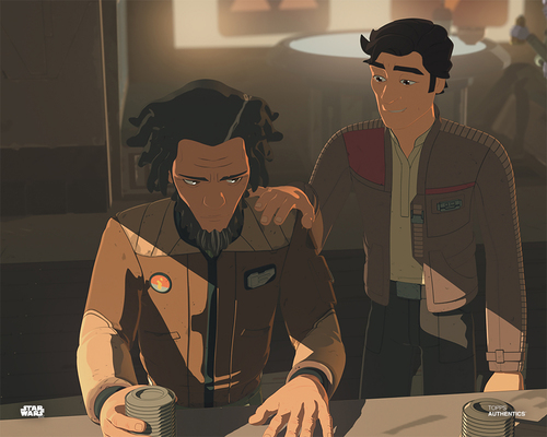 Poe Dameron and Jarek Yeager