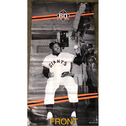 Photo of San Francisco Giants - 2018 Street Banner - 60th Anniversary - Willie Mays