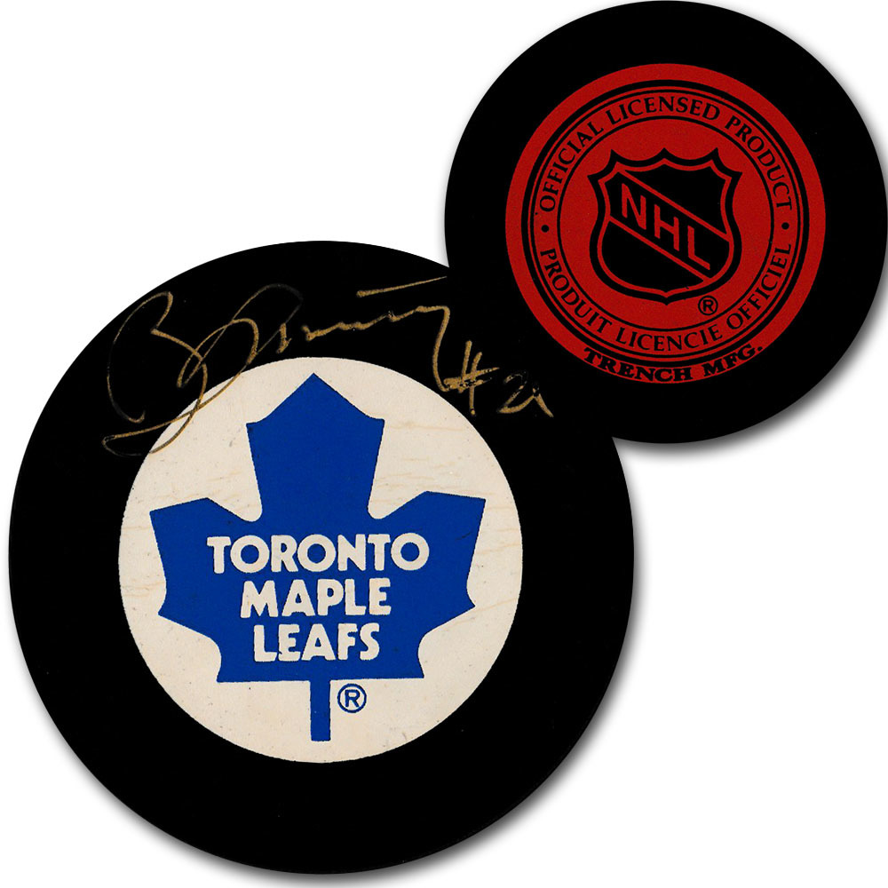 newest b4609 b9483 Borje Salming Autographed Toronto Maple Leafs Vintage Trench ...