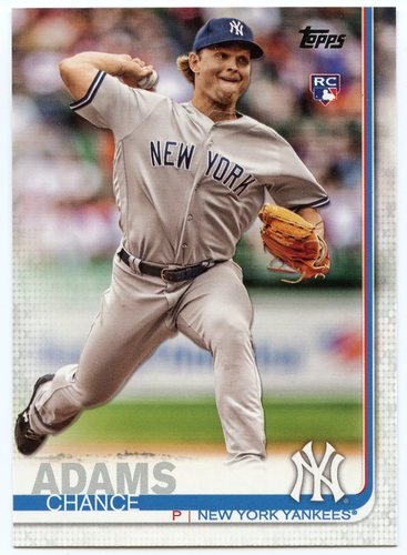 Photo of 2019 Topps #98 Chance Adams RC