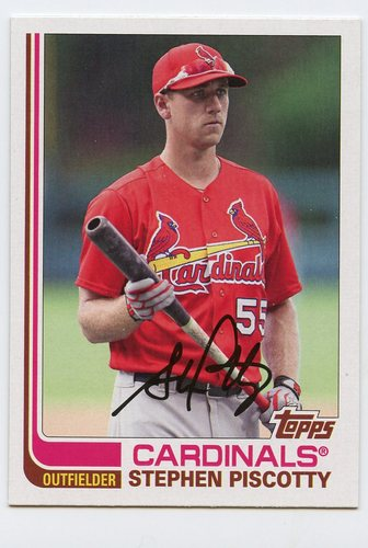 Photo of 2017 Topps Archives #176 Stephen Piscotty