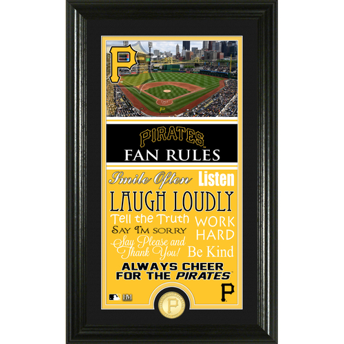 Photo of Pittsburgh Pirates Fan Rules Supreme Bronze Coin Photo Mint