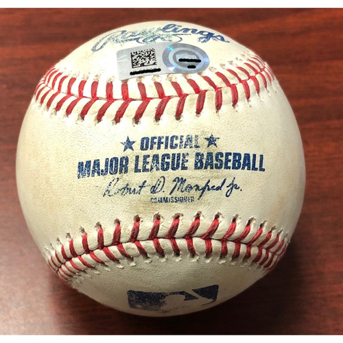 Photo of Game Used Baseball: Avisail Garcia HOME RUN (#20) off Luis Cessa - September 25, 2019 v NYY