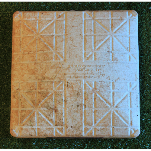 Photo of Game-Used 1st Base: Jorge Soler 46th Home Run of 2019 Season (Innings 1-5 - MIN @ KC - 9/28/19 - Post Not Included)
