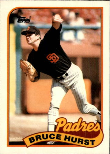 Photo of 1989 Topps Traded #55T Bruce Hurst