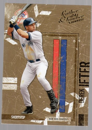 Photo of 2004 Leather and Lumber #96 Derek Jeter