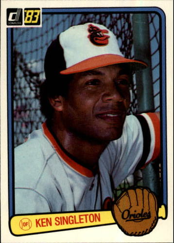 Photo of 1983 Donruss #257 Ken Singleton