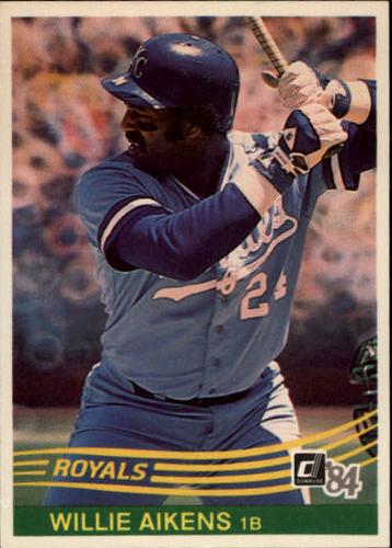 Photo of 1984 Donruss #155 Willie Aikens