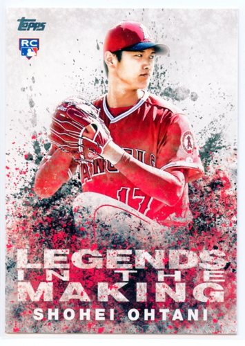 Photo of 2018 Topps Legends in the Making Series 2 #LITM2 Shohei Ohtani