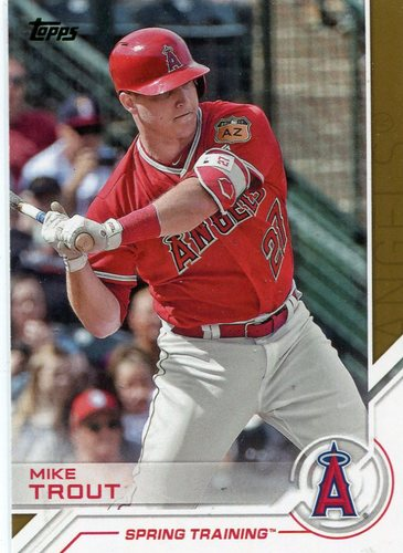 Photo of 2017 Topps Salute #S125 Mike Trout