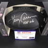 HOF - Giants Harry Carson Signed NFL Auction Exclusive Commemorative Hall of Fame Football W/ 100 Seasons Logo