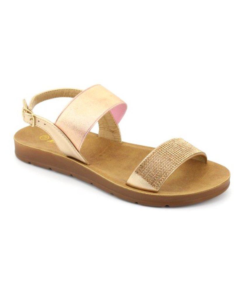 Photo of Nature Breeze Glitter Back-Buckle Delight Sandal