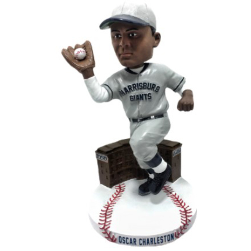 "Photo of NEGRO LEAGUES CENTENNIAL TEAM BOBBLEHEAD SERIES: Oscar McKinley ""Charlie"" Charleston"
