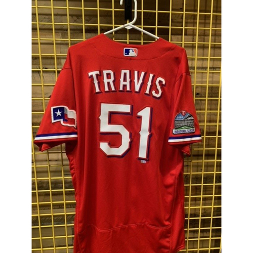Photo of Team-Issued Sam Travis Red Jersey