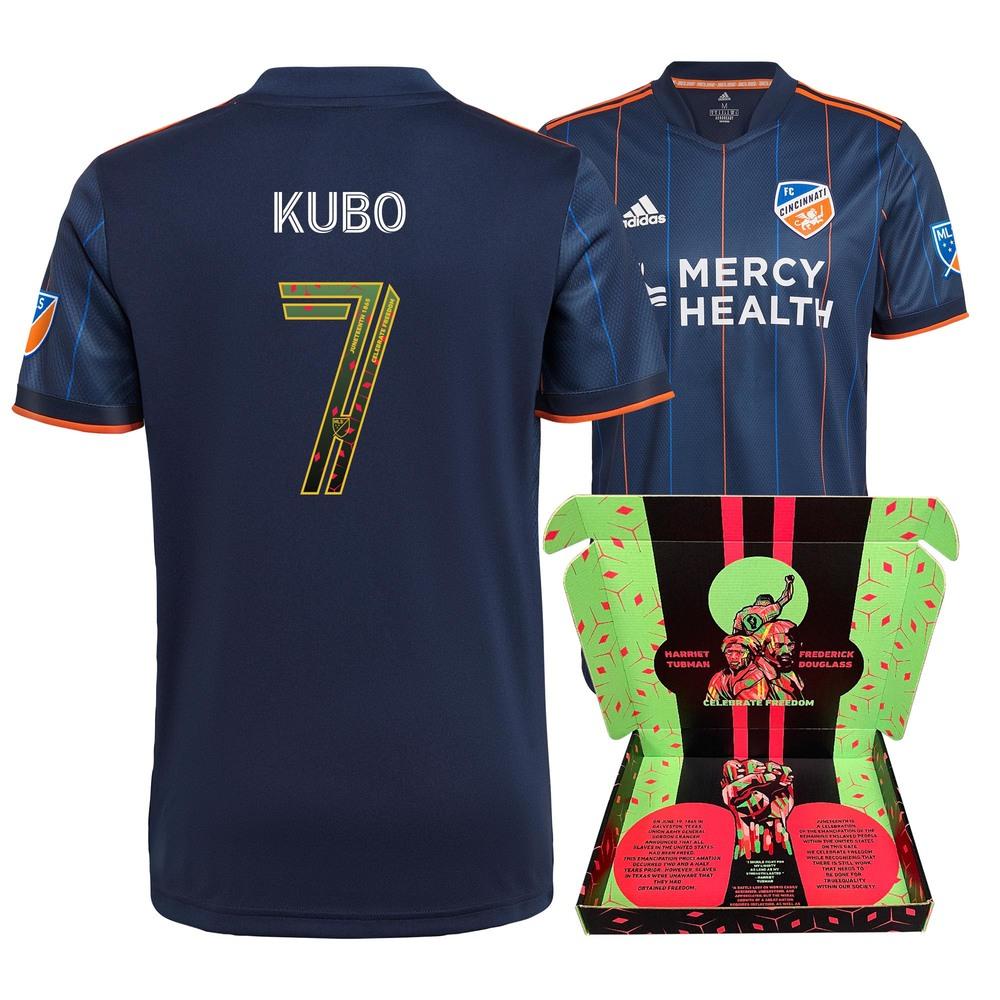 Yuya Kubo FC Cincinnati Match-Used & Signed