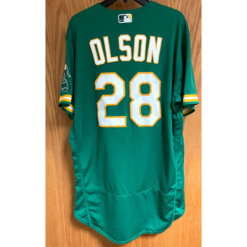 Photo of Game-Used Jersey - Matt Olson (8/8/21)
