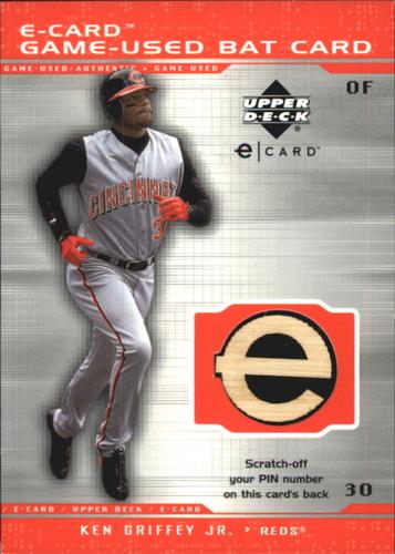 Photo of 2001 Upper Deck Evolution e-Card Game Bat #BKG Ken Griffey Jr.