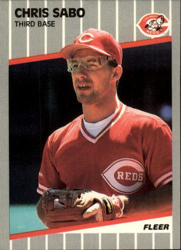 Photo of 1989 Fleer #170 Chris Sabo RC