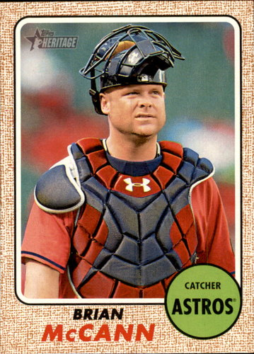 Photo of 2017 Topps Heritage #281 Brian McCann