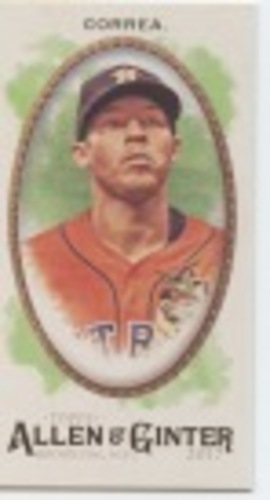 Photo of 2017 Topps Allen and Ginter Mini #48 Carlos Correa