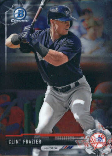 Photo of 2017 Bowman Chrome Prospects #BCP167 Clint Frazier